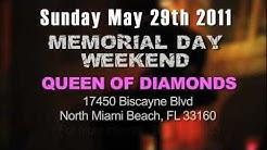 "Miami Vs Atlanta ""Strip Off"" - 5-29-2011 Memorial Day Weekend @ Queen of Diamonds Miami,FL"