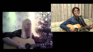 Stilla Natt - きよしこの夜 - Silent Night cover duet Swedish/Japanese/English lyrics