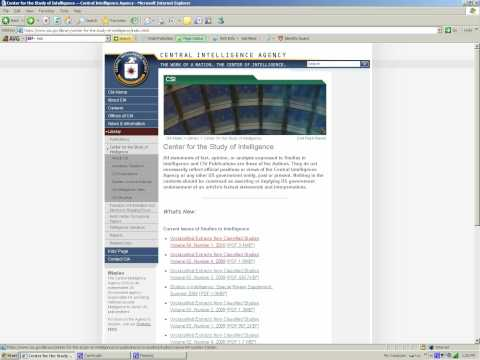 CIA World factbook tutorial