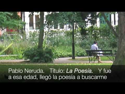 Neruda la poes a poema con audio y subt tulos en espa ol for Poemas de invierno pablo neruda