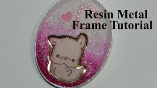 Resin Metal Charm Tutorial