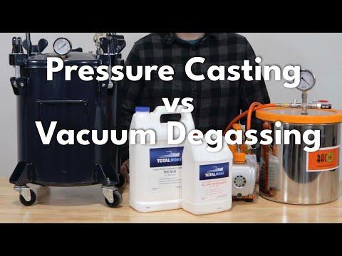 Pressure Casting vs Vacuum Degassing