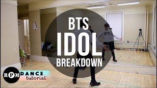 BTS \Idol\ Dance Tutorial (Breakdown)