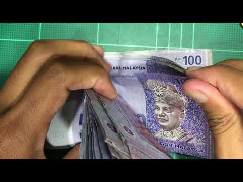 Counting Money Malaysian Ringgit (MYR)
