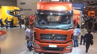 Dongfeng KL 4x2 Tractor Truck Exterior and Interior