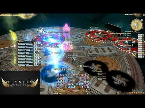 FFXIV: Alexander Floor 6 (Savage) - Elysium FC (BLM PoV)