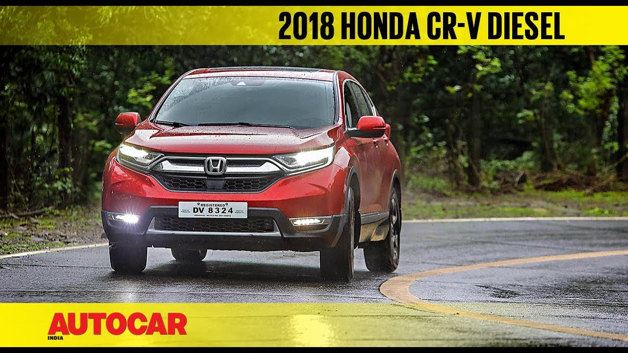 2018 Honda Cr V Diesel Auto First Drive Review Autocar India
