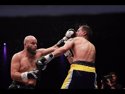 AEBOX - Mustafa Chadlioui vs Carlos Esteban- Campeonato de España