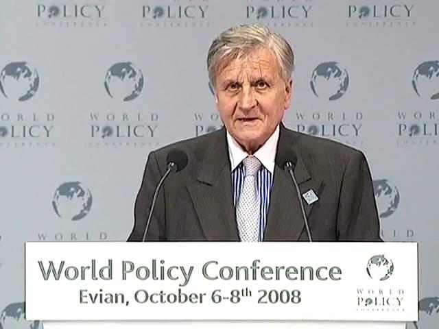 Jean-Claude Trichet - Plenary session Part 3
