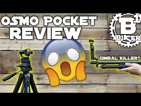 Osmo Pocket Review - GoPro Killer - Rockville Park - Fairfield, Ca - Mountain Biking