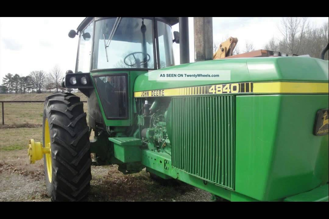 maxresdefault john deere 4840 tractor youtube where is the fuse box on a john deere 4850 at bayanpartner.co
