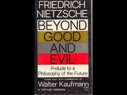 45 minutes on a single paragraph of Nietzsche's Beyond Good & Evil