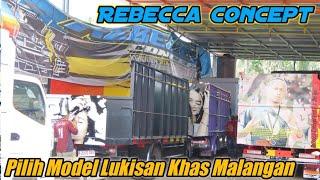 New Boss Galak Full Lukis Khas Malangan // Rebecca Concept