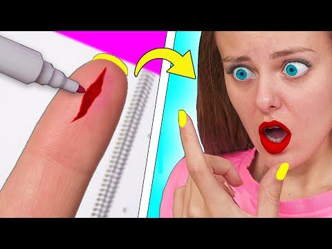 12 Бьюти ЛАЙФХАКОВ и советов для девочек Как стать популярной! ИДЕИ для причесок и косметики LIFE HA