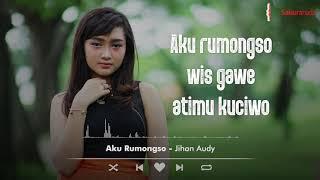 Jihan Audy Aku Rumongso