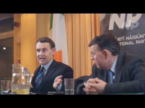 Justin Barrett - Ireland Can Never Pay the National Debt