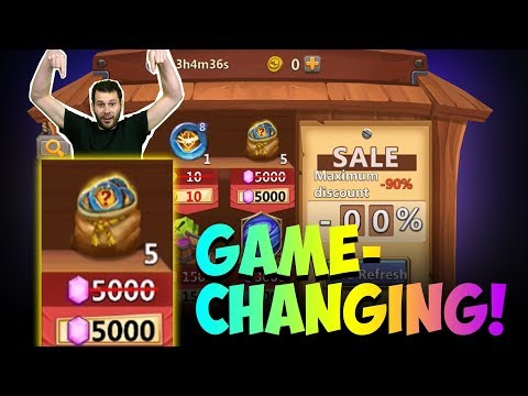 JT's F2P Game Changing Discount Store INSANE Castle Clash