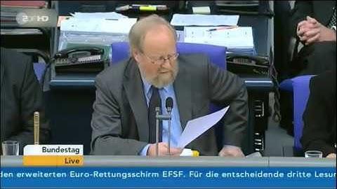 Die Abstimmung über den Euro-Rettungsschirm EFSF im RTL-Stil