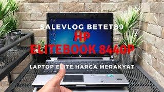 Laptop Elite harga merakyat HP EliteBook 8440p Core i5 cocok UNBK betet89