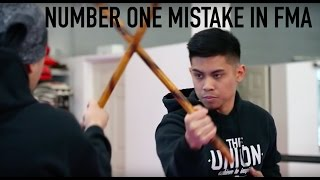 THE NUMBER ONE MISTAKE IN FILIPINO MARTIAL ARTS | TECHNIQUE TUESDAY