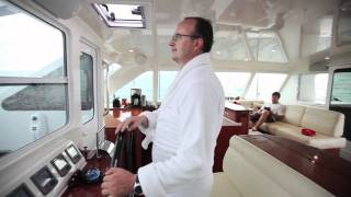 Sailing the Gunboat 66 at 20 knots