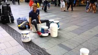Half Time Groove - Gordo Bucket Drumming