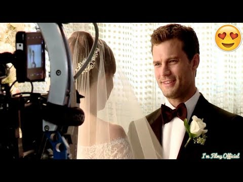 Fifty Shades Freed Bloopers, B-Roll & Behind the Scenes(BTS) - 2018