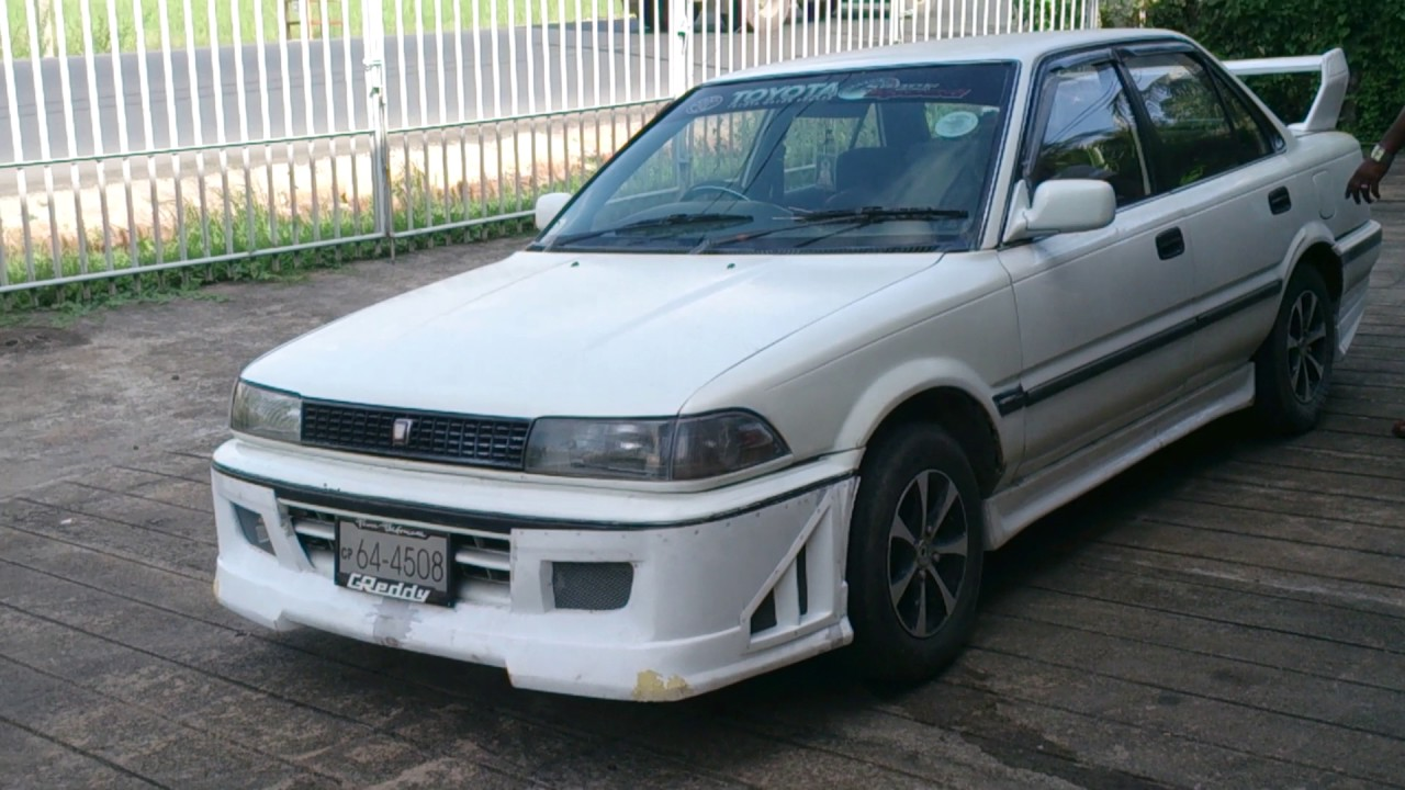 toyota corolla ae 91 modified body kits sri lanka youtube toyota corolla ae 91 modified body kits