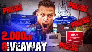 2000 Subscribers Giveaway - Eure Outdoorstory!!!  - End of the Comfort Zone
