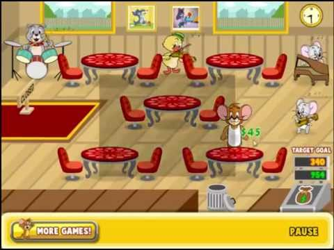 Tom and Jerry Games - Jerry's Diner - Cartoon Network Game - Game For Kid - Game For Boy
