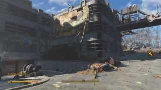 Fallout 4  Изучение локации авто. лазерный мушкет