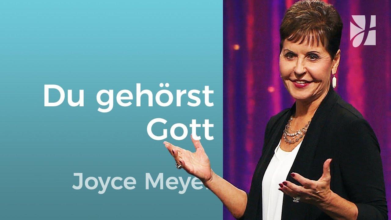 Du gehörst Gott – Joyce Meyer – Gott begegnen