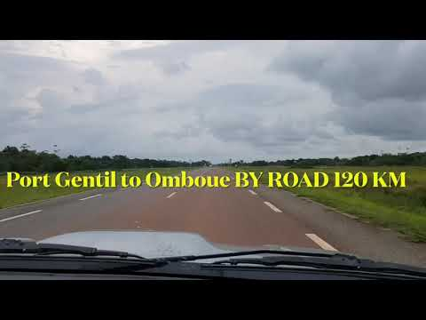 Port Gentil to Omboue by Road 🚘.......🚗