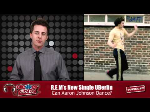 """R.E.M.: Aaron Johnson Get His Dance on in  """"ÜBerlin"""" Music Video"""