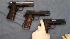 Colt Lightweight Commander ( Model 1911 1911A1 .45 ACP 9 mm Super .38 )