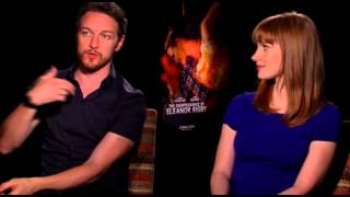 Jessica Chastain and James McAvoy on making 'Disappearance of Eleanor Rigby'