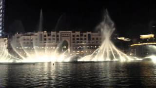 Dubai (Dancing) Fountain - Ae Bali Habibi
