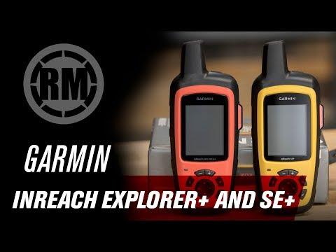 Garmin InReach Explorer + and SE + GPS Devices