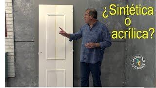 Lacar una puerta con rodillo (Bricocrack)