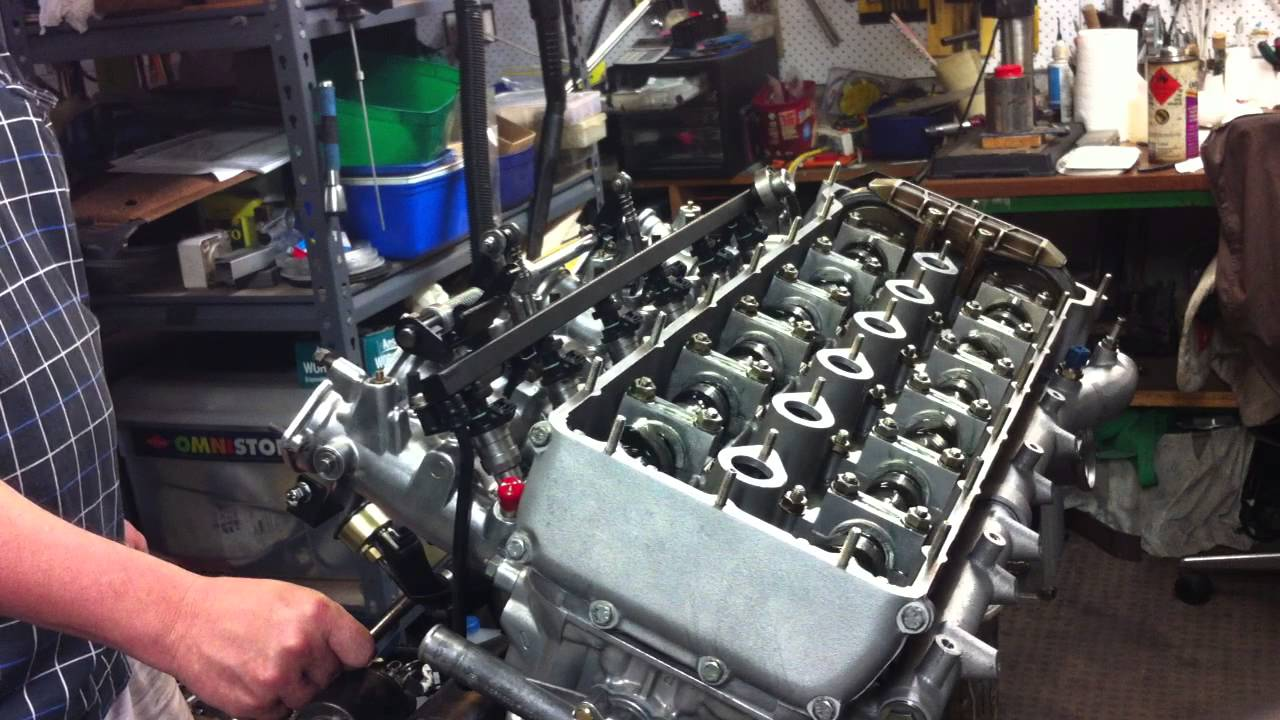 Bmw S38b38 M5 Engine Rebuild First Cranking On Starter