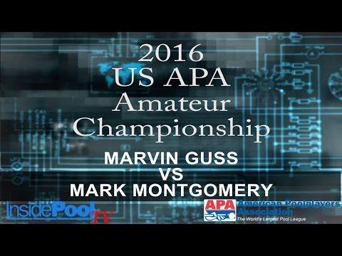 2016 U S  APA Amateur Championship Marvin Guss vs Mark Montgomery