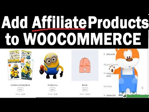 How to Add Affiliate Products With WOOCOMMERCE External Product Link Tutorial thumbnail