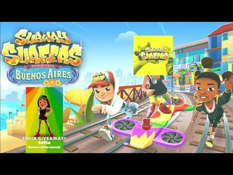 Subway Surfers Buenos Aires 2018!