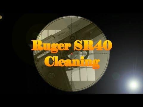 Ruger SR40 Cleaning