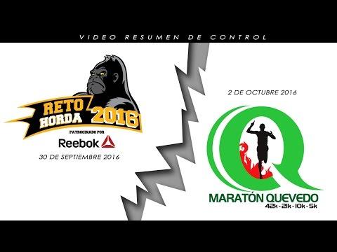 Resumen Reto Horda y Maraton Quevedo 2016