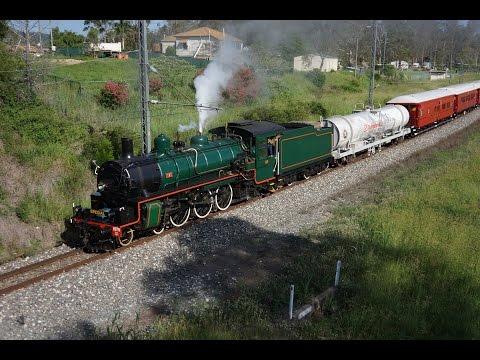 BB18 ¼ 1079 - QR 150th Steam Train - Brisbane to Maryborough - 15/01/2015