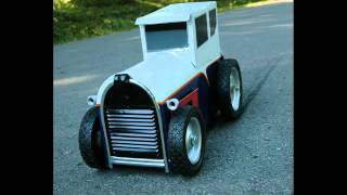 "Dudes Customs ""hot Rod"" Mailboxes"