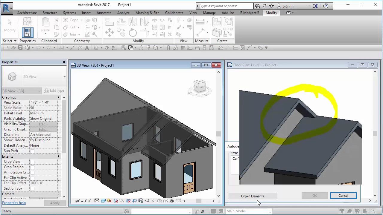Revit 2017 Cool Gable Roof Tip Cadclip Youtube