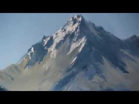 Paesaggio Di Montagna Igor Saharov Rossiya Il Nuovo Video Tutorial