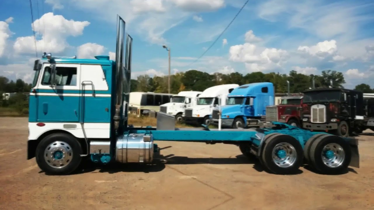 Coe Trucks For Sale >> 1981 PETERBILT 352 For Sale - YouTube
